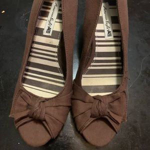Size 7 American Eagle Wedges